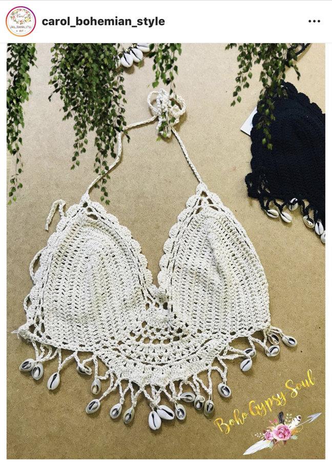 Top Crochet Gypsy