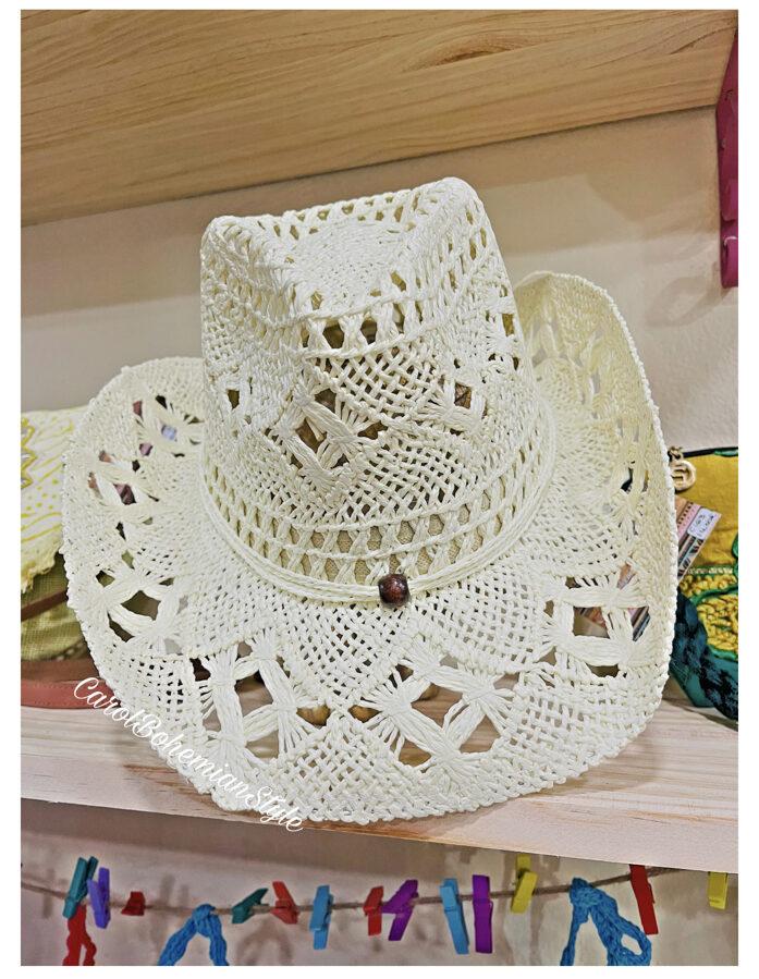 Sombrero Blanco roto