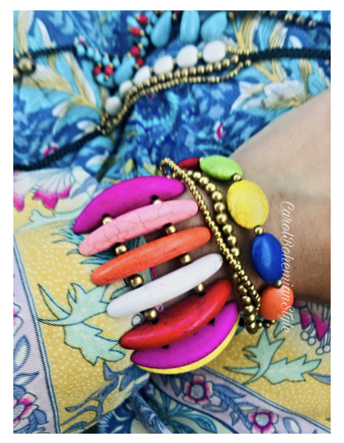 Pulseras Hippie Colours