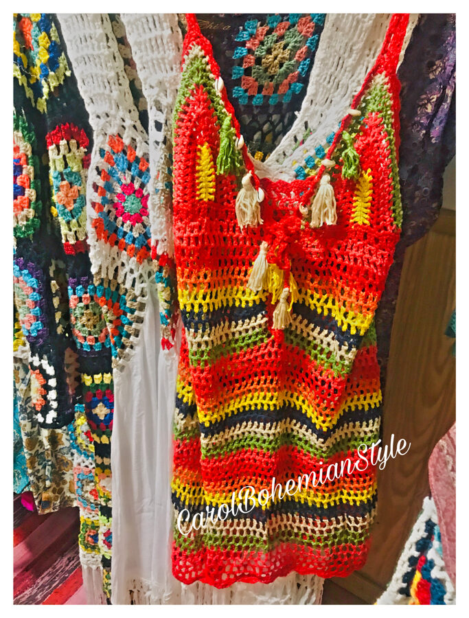 Vestido Crochet Multi