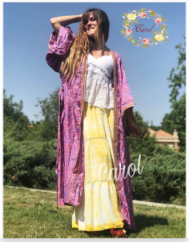 Falda Gypsysoul Amarilla