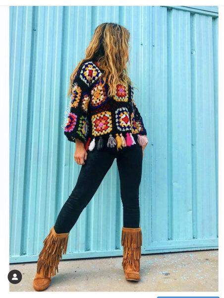 Jersey Crochet Hippie
