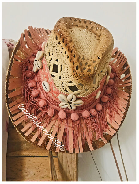 Sombrero BohoLove Rosa