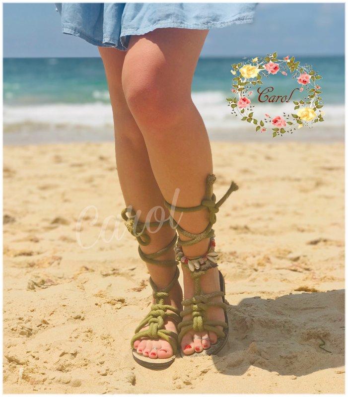 Sandalias cuerdas