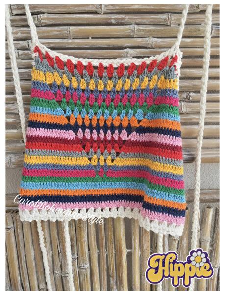 Top Crochet Multicolor