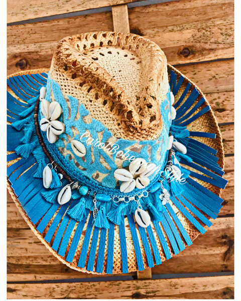 Sombrero BohoLOve Joya Turquesa