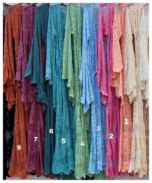 Kimono Caños Colores