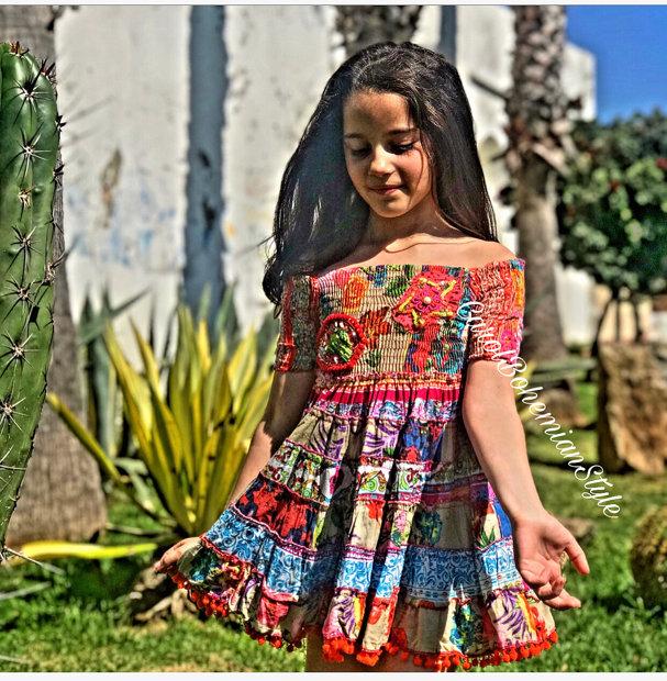 Vestido Bohemian Style Mini