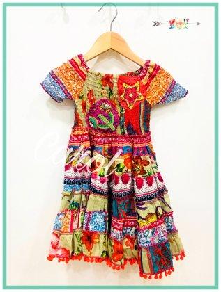 Vestido Bohemian Style Kids